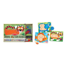 Load image into Gallery viewer, Animal Pattern Blocks Set - Melissa & Doug