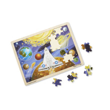 Load image into Gallery viewer, Space Voyage Wooden Jigsaw Puzzle - 48 Pieces - Melissa & Doug