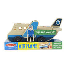 Load image into Gallery viewer, Wooden Aeroplane - Melissa & Doug