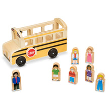 Load image into Gallery viewer, Wooden School Bus - Melissa & Doug