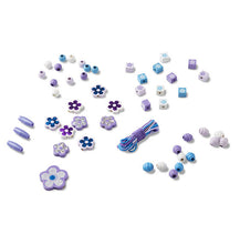 Load image into Gallery viewer, Sparkling Flowers Wooden Bead Set - Melissa & Doug