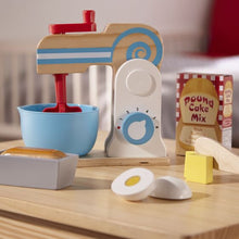 Load image into Gallery viewer, Wooden Make-a-Cake Mixer - Melissa & Doug