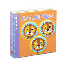 Load image into Gallery viewer, Soft Shapes Book - Counting - Melissa & Doug