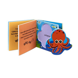 Soft Shapes Book - Ocean - Melissa & Doug