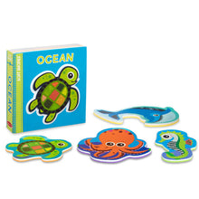 Load image into Gallery viewer, Soft Shapes Book - Ocean - Melissa & Doug