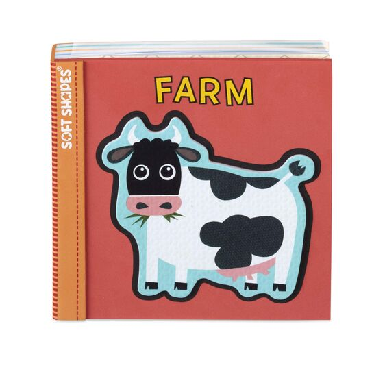 Soft Shapes Book - Farm - Melissa & Doug