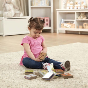Natural Play Book Tower: Little Nursery Books - Melissa & Doug