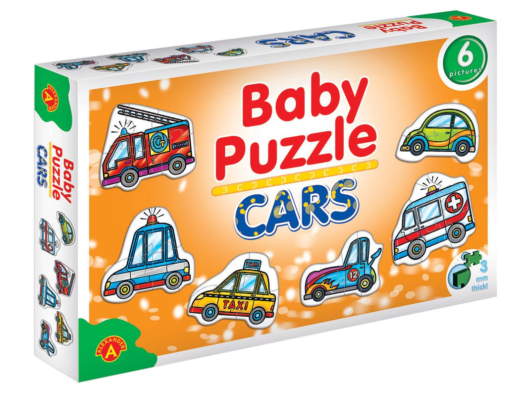Toddler Car Puzzle