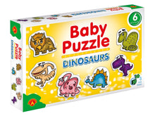 Load image into Gallery viewer, Toddler Dinosaur Puzzle