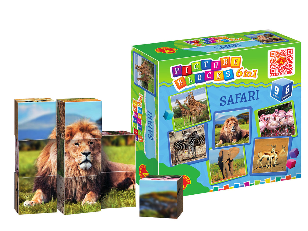 Picture Blocks - Safari