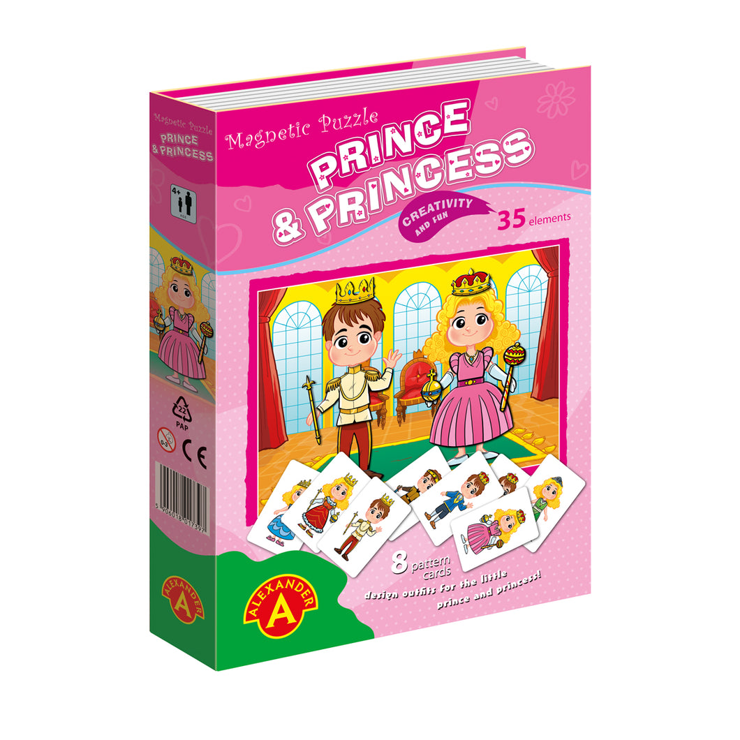 Magnetic Puzzle: Prince & Princess