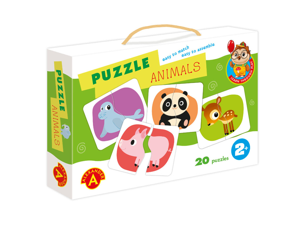 Matching Baby Animals Puzzle