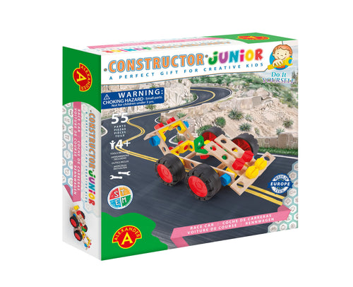 Wooden DIY Race Car - Constructor