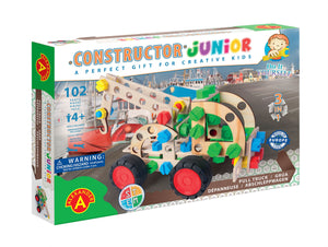 Wooden DIY 3-in-1 Tow Truck - Constructor