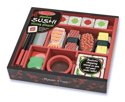 Wooden Sushi Slicing Set - Melissa & Doug