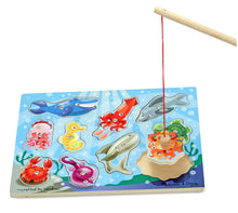 Load image into Gallery viewer, Wooden Fishing Game - Melissa & Doug
