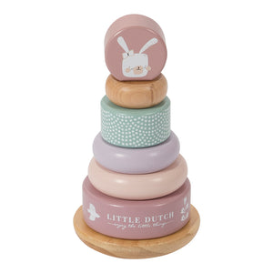 Rocking Ring Stacker - Pink - Little Dutch