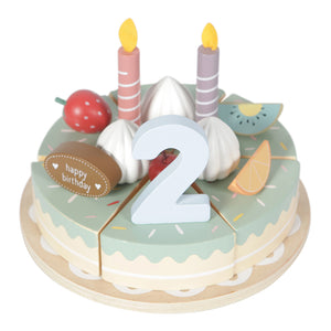 Wooden Party Cake - Little Dutch