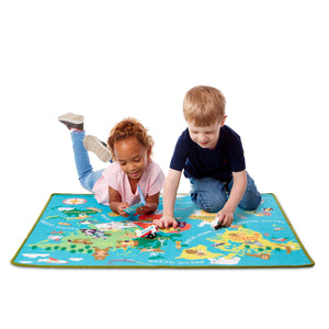 World Travel Rug & Accessories - Melissa & Doug