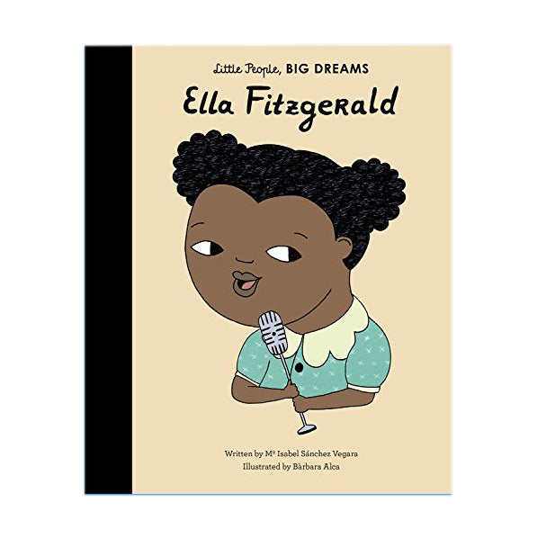 Ella Fitzgerald by Maria Isabel Sanchez Vegara - Board Book
