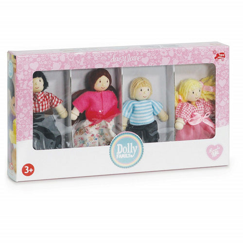 Wooden Doll Set - Family of 4 - Le Toy Van
