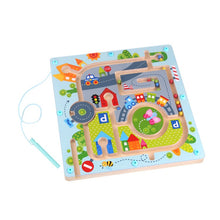 Load image into Gallery viewer, Wooden Magnetic Maze - Tooky Toy