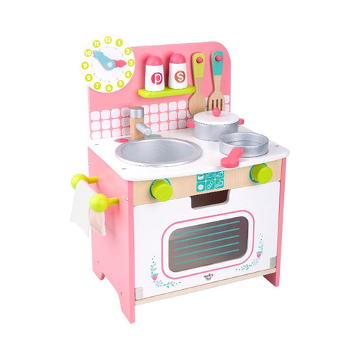 Pink Kitchen Set - Medium - Tooky Toy