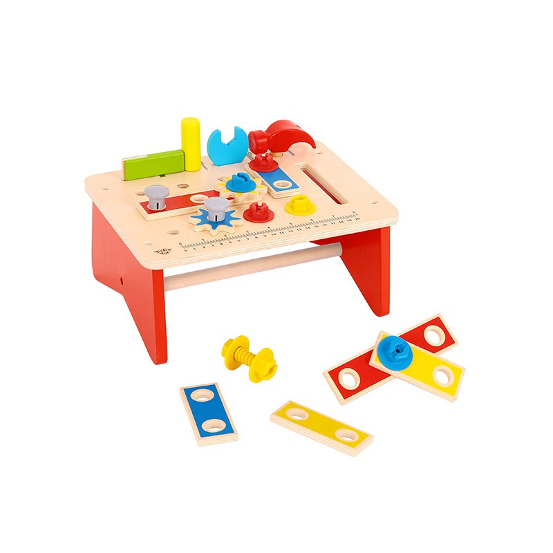 Wooden Work Bench - Tooky Toy