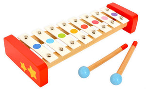 Wooden Musical Instrument Set - Tooky Toy