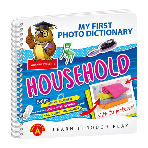 My First Photo Dictionary - Household
