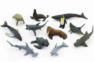 Cold Ocean Animals (12 piece)
