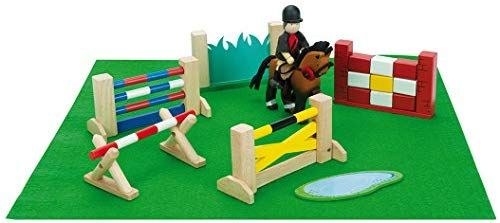 Horse Jumping Set - Budkins - Le Toy Van