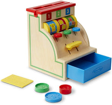 Load image into Gallery viewer, Wooden Cash Register - Melissa & Doug