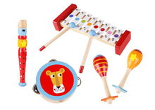 Load image into Gallery viewer, Wooden Musical Instrument Set - Tooky Toy