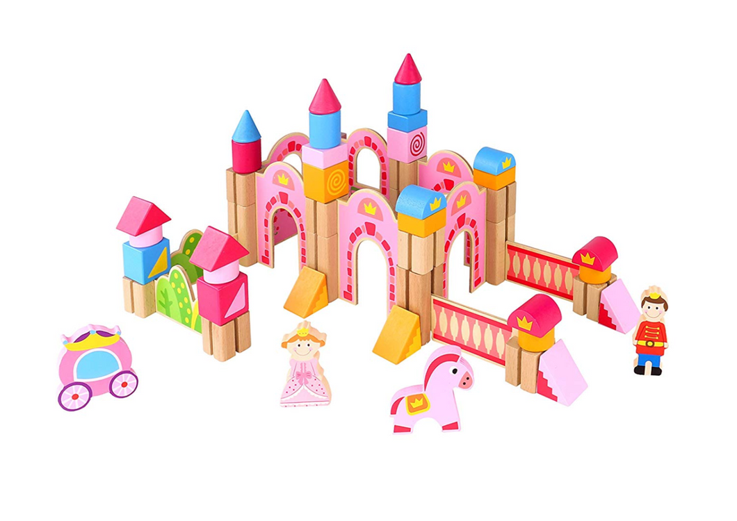 Princess Building Block Castle - Tooky Toy