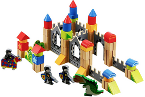 Knight Building Block Castle - Tooky Toy