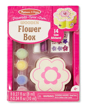 Load image into Gallery viewer, Decorate Your Own - Wooden Flower Box - Melissa & Doug