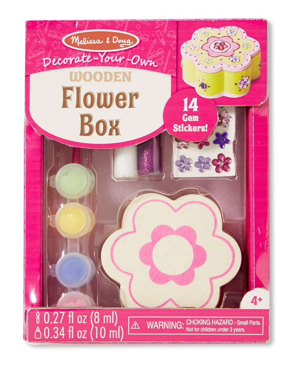 Decorate Your Own - Wooden Flower Box - Melissa & Doug