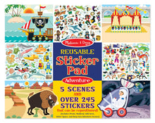 Load image into Gallery viewer, Adventure Reusable Sticker Pad - Melissa & Doug