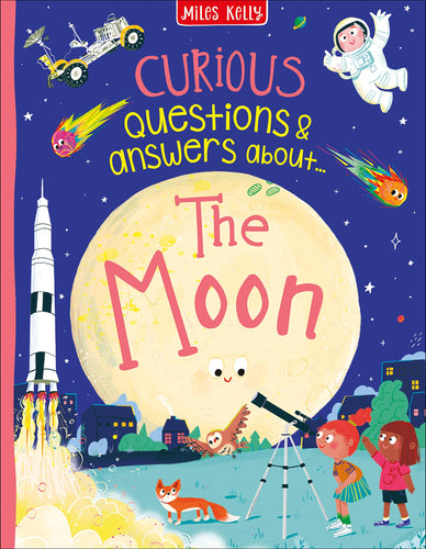 Curious Questions & Answers about The Moon - Hard Cover