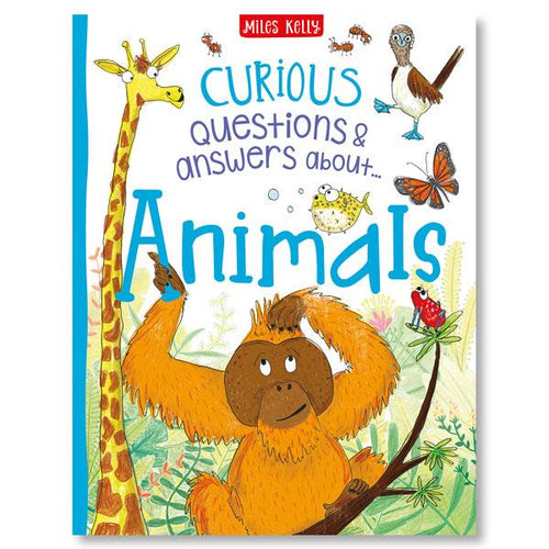 Copy of Curious Questions & Answers about Animals - Hard Cover