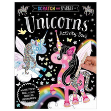 Load image into Gallery viewer, Scratch and Sparkle: Unicorns Activity Book