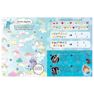 Scratch and Sparkle: Unicorns Activity Book