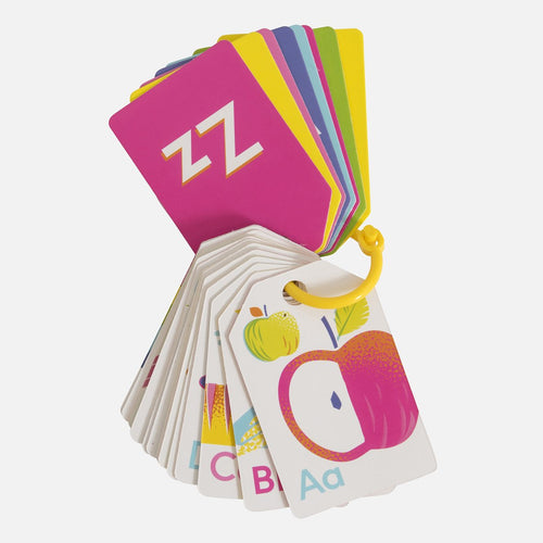 Alphabet Flash Cards - Neon - Tiger Tribe
