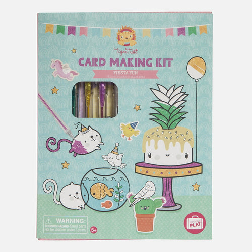 Card Making Kit - Fiesta Fun - Tiger Tribe