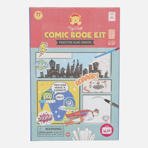 Comic Book Kit - Practice. Plan. Create. - Tiger Tribe