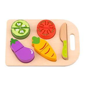 Wooden Veg Cutting - Tooky Toy