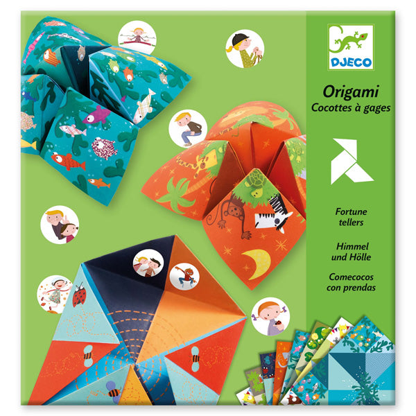 Origami Fortune Tellers - Animals - Djeco