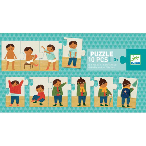 Dressing Up Sequence Puzzle - Djeco