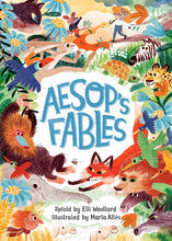 Load image into Gallery viewer, Aesop's Fables - Retold by Elli Woollard - Hardcover